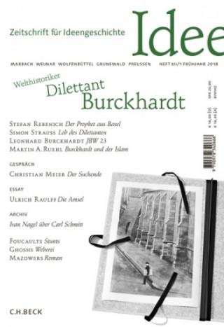 Zeitschrift für Ideengeschichte Heft XII/1 Frühjahr 2018