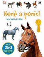 Samolepková knížka Koně a poníci