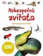 Samolepková knížka Nebezpečná zvířata