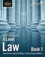 WJEC/Eduqas Law for A Level: Book 1