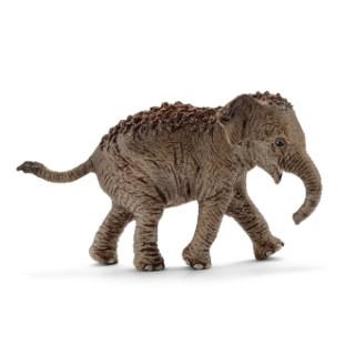 Schleich Asiatisches Elefantenbaby, Kunststoff-Figur