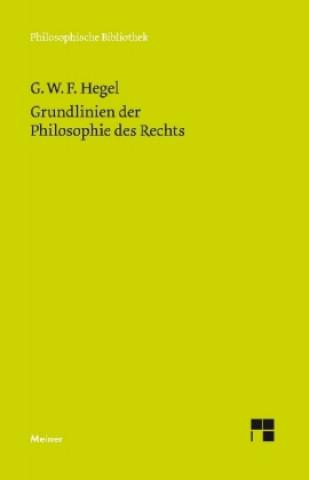 Grundlinien der Philosophie des Rechts