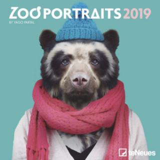 2019 ZOO PORTRAITS MINI GRID CALENDAR