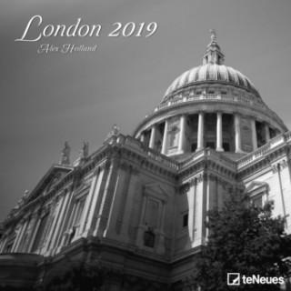 2019 LONDON 30 X 30 GRID CALENDAR