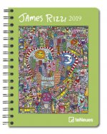 2019 JAMES RIZZI DELUXE DIARY 165 X 216