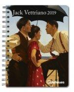 2019 JACK VETTRIANO DELUXE DIARY 165 X 2