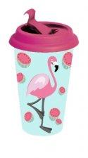 Flamingo Coffee To Go Becher