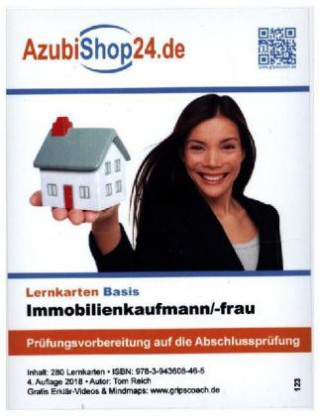 AzubiShop24.de Basis-Lernkarten Immobilienkaufmann-frau