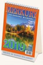 Kalendarz 2019 Merkury 10 sztuk