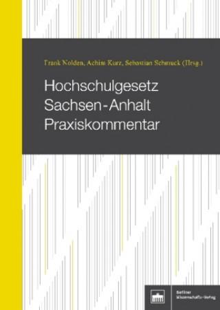 Hochschulgesetz Sachsen-Anhalt Praxiskommentar