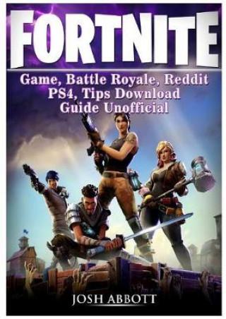 BOOK - FORTNITE GAME, BATTLE ROYALE, REDDIT, PS