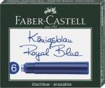 Faber-Castell Tintenpatronen Standard königsblau 6er