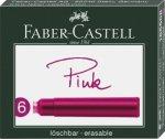 Faber-Castell Tintenpatronen Standard pink 6er