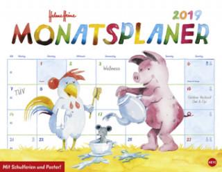 Helme Heine Monatsplaner 2019