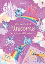 Unicorns Transfer Activity Book