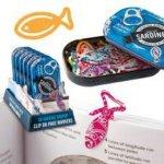 Záložky do knihy 50 sardinek