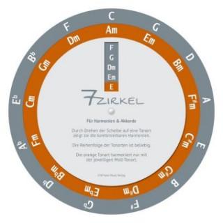 7-Zirkel, Für Harmonien & Akkorde, Drehscheibe