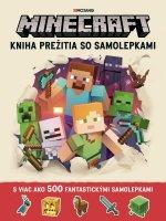 Minecraft Kniha prežitia so samolepkami