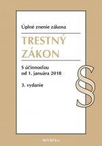 Trestný zákon. Úzz, s účinnosťou od 1. januára 2018, 3. vydanie