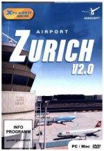 XPlane 11 AddOn Airport Zurich V 2.0, 1 DVD-ROM