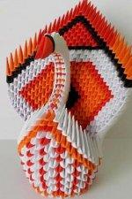 Origami Swan Notebook
