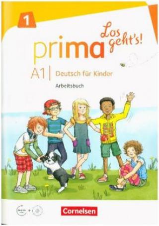 Arbeitsbuch, m. Audio-CD, Audios online und Stickerbogen