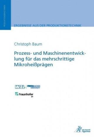 Prozess- und Maschinenentwicklung für das mehrschrittige Mikroheißprägen