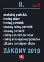 Zákony 2018 II. časť B