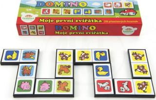 Domino Moje první zvířátka 28ks
