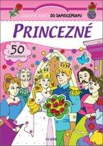 Zábavné zošity so samolepkami Princezné