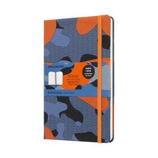 Moleskine Camouflage Orange Limited Collection Notebook Large Ruled