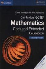 Cambridge IGCSE (R) Mathematics Core and Extended Coursebook