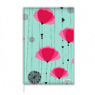 Notebook A6 Coquelicot