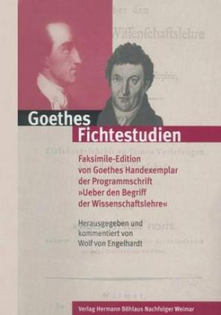 Goethes Fichtestudien