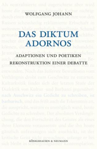 Das Diktum Adornos