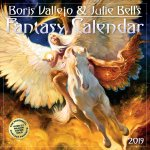 2019 Boris Vallejo & Julie Bells Fantasy Wall Calendar