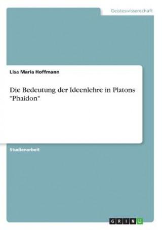 Die Bedeutung der Ideenlehre in Platons Phaidon