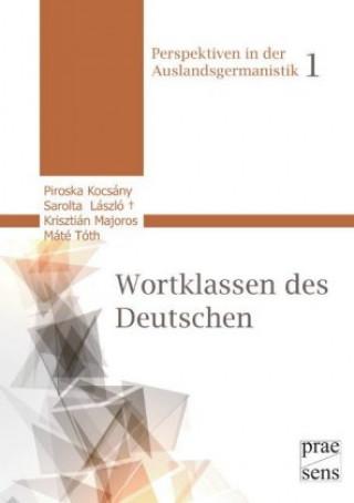 Die Wortklassen des Deutschen