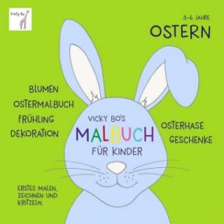 Vicky Bos Malbuch für Kinder - Ostern