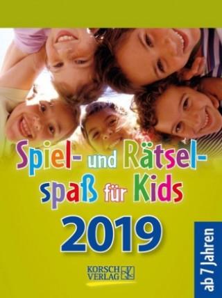Spiel- und Rätselspaß für Kids 2019