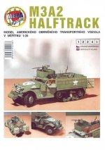 M3A2 HALFTRACK/papírový model
