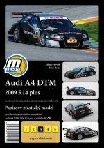 Audi A4 DTM 2009 R14 plus/papírový model
