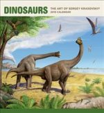 Dinosaurs the Art of Sergey Krasovskiy 2019 Wall Calendar