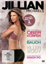 Jillian Michaels - Killer Box Set, 4 DVD