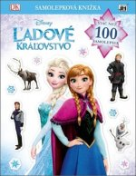 Samolepková knižka Ľadové kráľovstvo