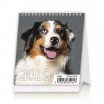 Mini Puppies- stolní kalendář 2019