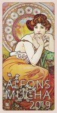 Alfons Mucha- nástěnný kalendář 2019