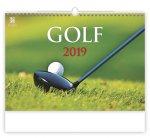 Golf - nástěnný kalendář 2019
