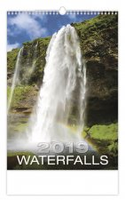 Waterfalls - nástěnný kalendář 2019