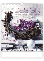 Live Design - nástěnný kalendář 2019
